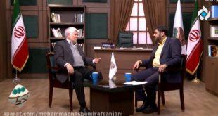 مصاحبه با محمد هاشمی برنامه دست خط